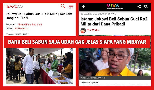 JS Prabowo: Baru Ditanya Siapa yang Mbayar Sabun aja Jawabannya Udah Ngalor-ngidul