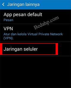Cara Mengunci Sinyal Jaringan 3G Android 2