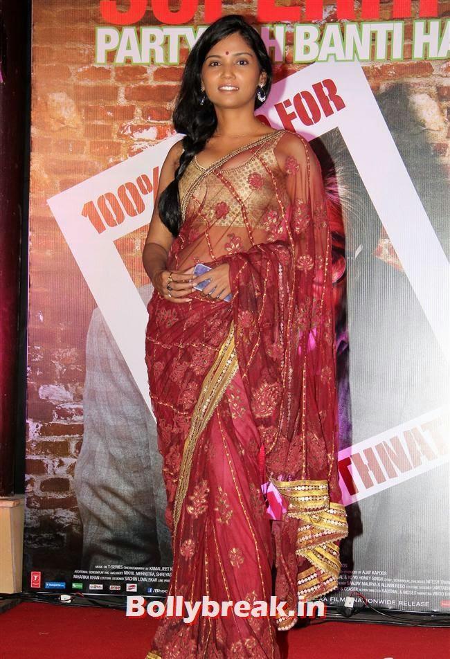 Usha Jadhav, Usha Jadhav at Bhoothnath Returns Success Party