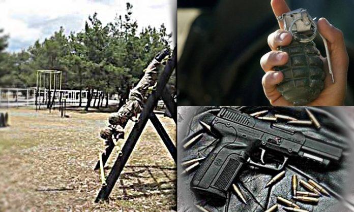 Βρήκαν κρυμμένα περίστροφο και εκρηκτικά στο στρατόπεδο Σταυροβουνίου. Χειροπέδες σε Μόνιμο Αξιωματικό.