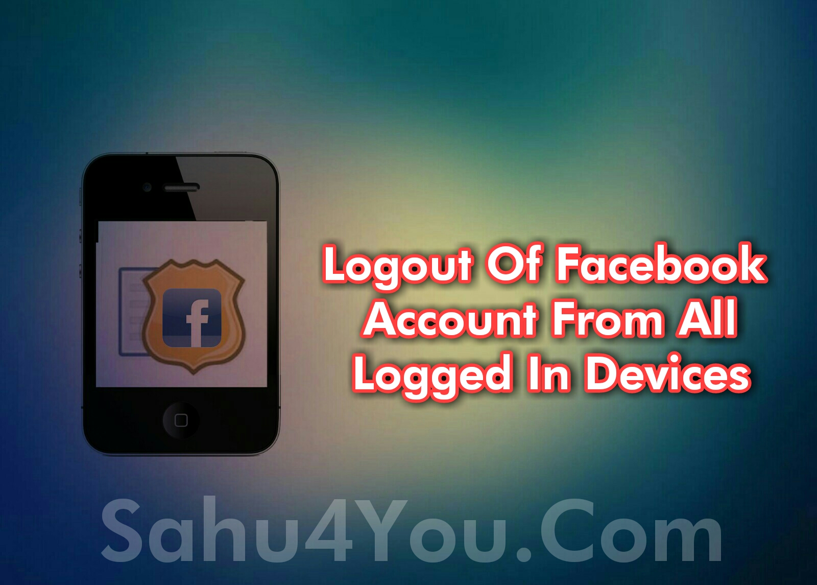 How To Logout Of Facebook Account From All Devices In Hindi