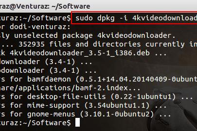 Install 4K Video Downloader di Ubuntu
