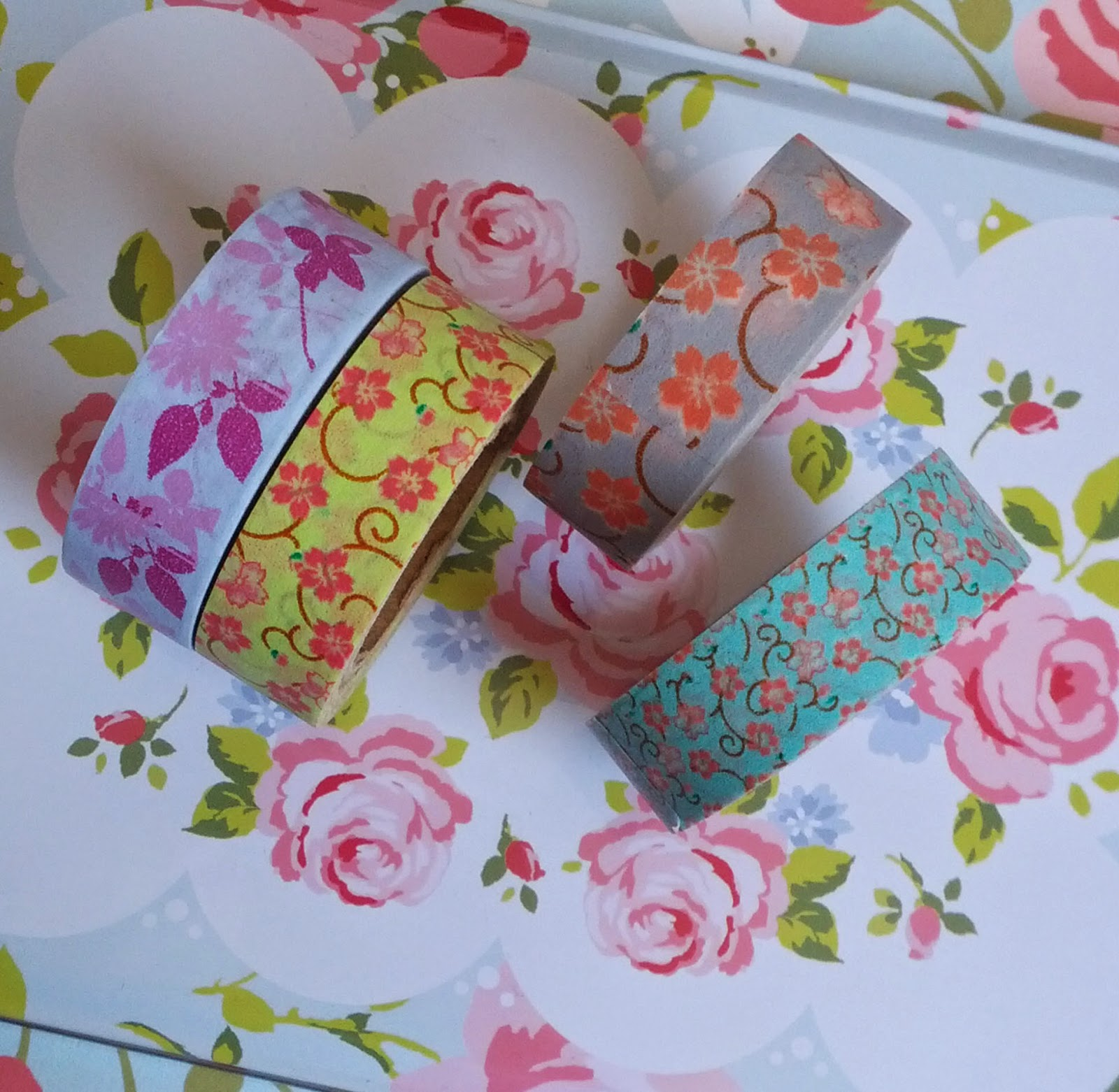 Wo Gibt Es Washi Tape Pretty Things Florale Washi Tape Sammlung