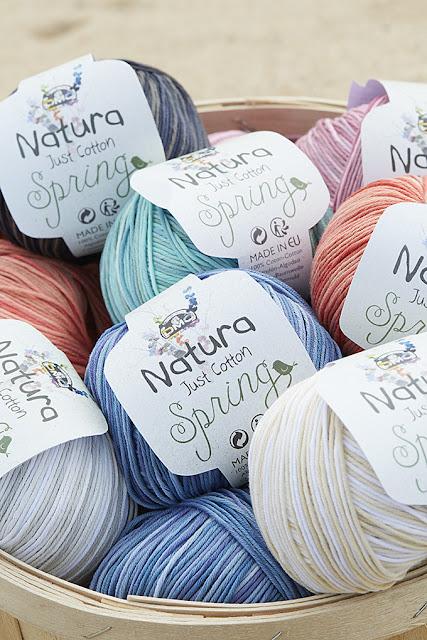 Nouvelle gamme de couleurs Natura Spring