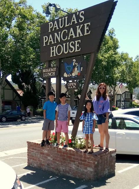 Paula's Pancake House in Solvang, CA