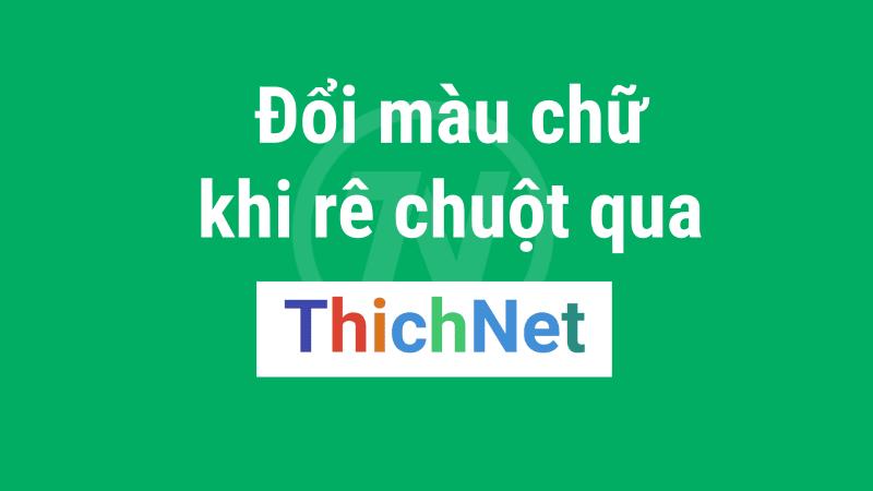 ThichNet