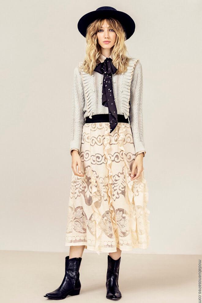 Moda mujer invierno 2017 ropa de moda Rapsodia invierno 2017. Moda 2017.