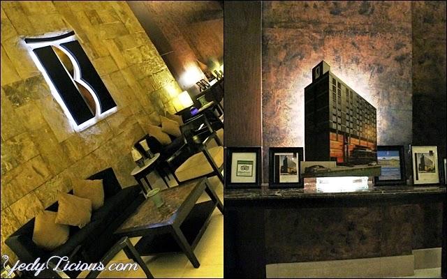 Interior of B Hotel in Alabang