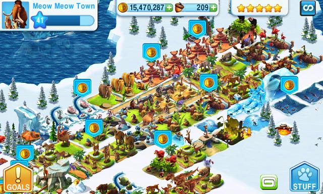 ice age village  kuliah game