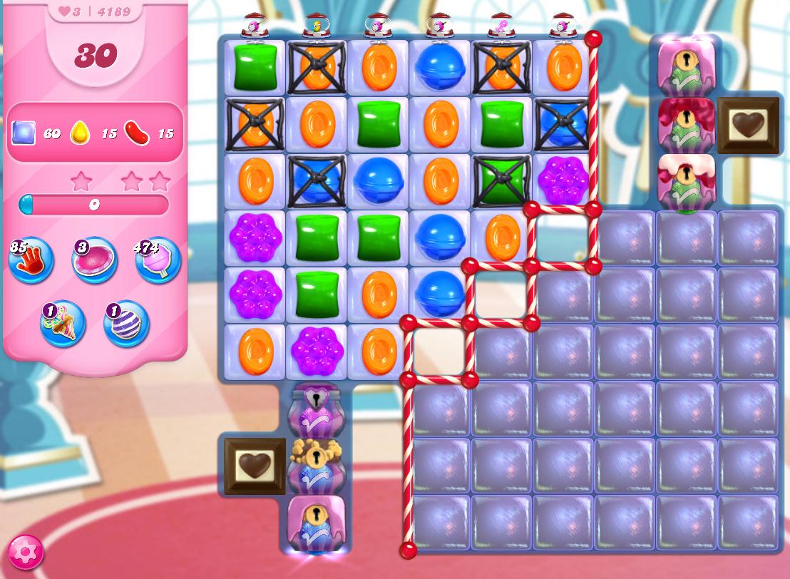 Candy Crush Saga level 4189