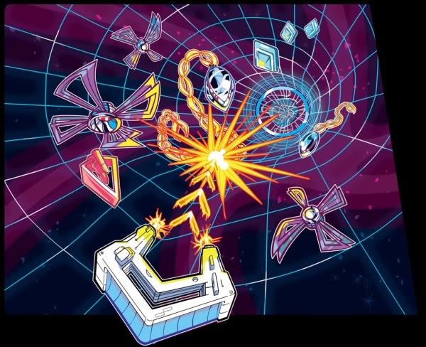 The Artcade Arcade Art Geometry Wars Retro Arcade Side Art