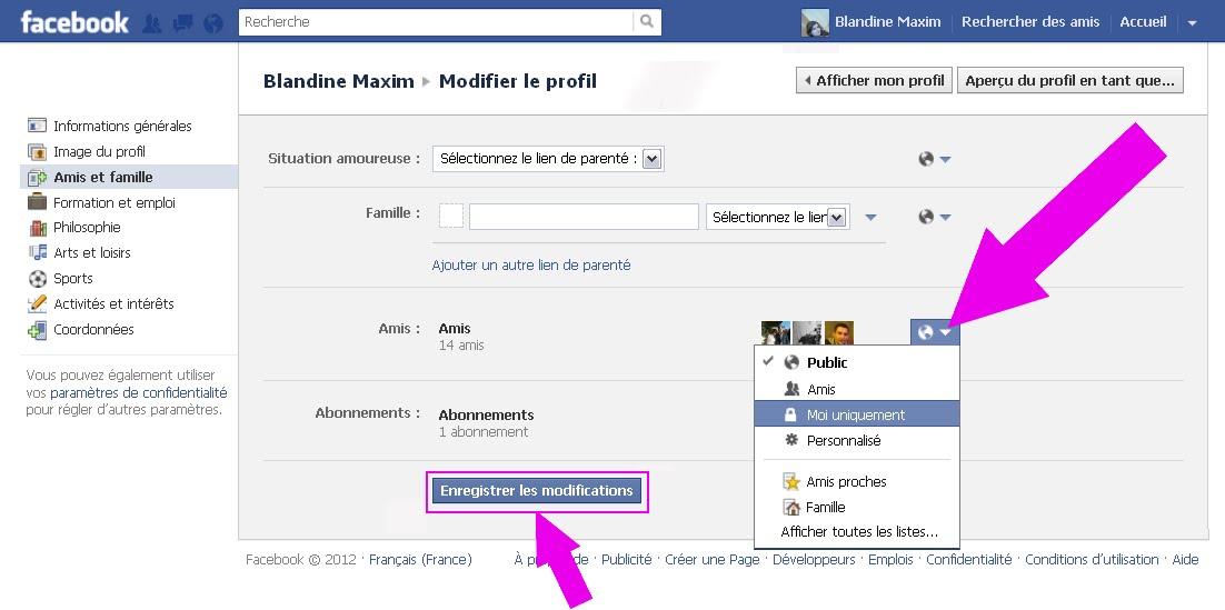 aide utilisation facebook