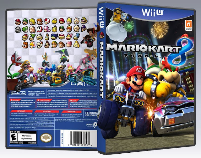 Capa Mario Kart 8 Wii U