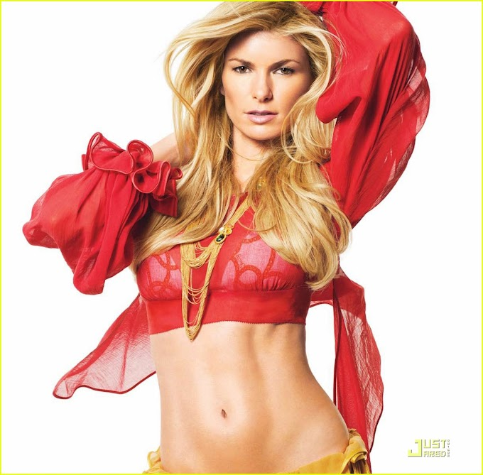 She is a model: Marisa Miller