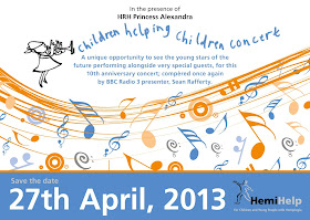 Children Helping Children concert 27 April 2013, Cadogan Hall