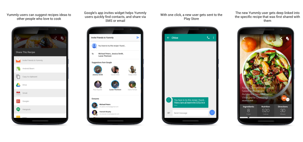 Google Developers Blog: Grow your app installs with App Invites ...