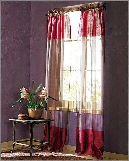المجموعه الاول من احدث تصميمات الستائر  لجميع الاذواق Curtains 2014
