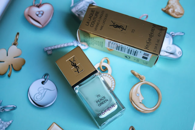 YSL La Laque Couture # 70 Peace Green