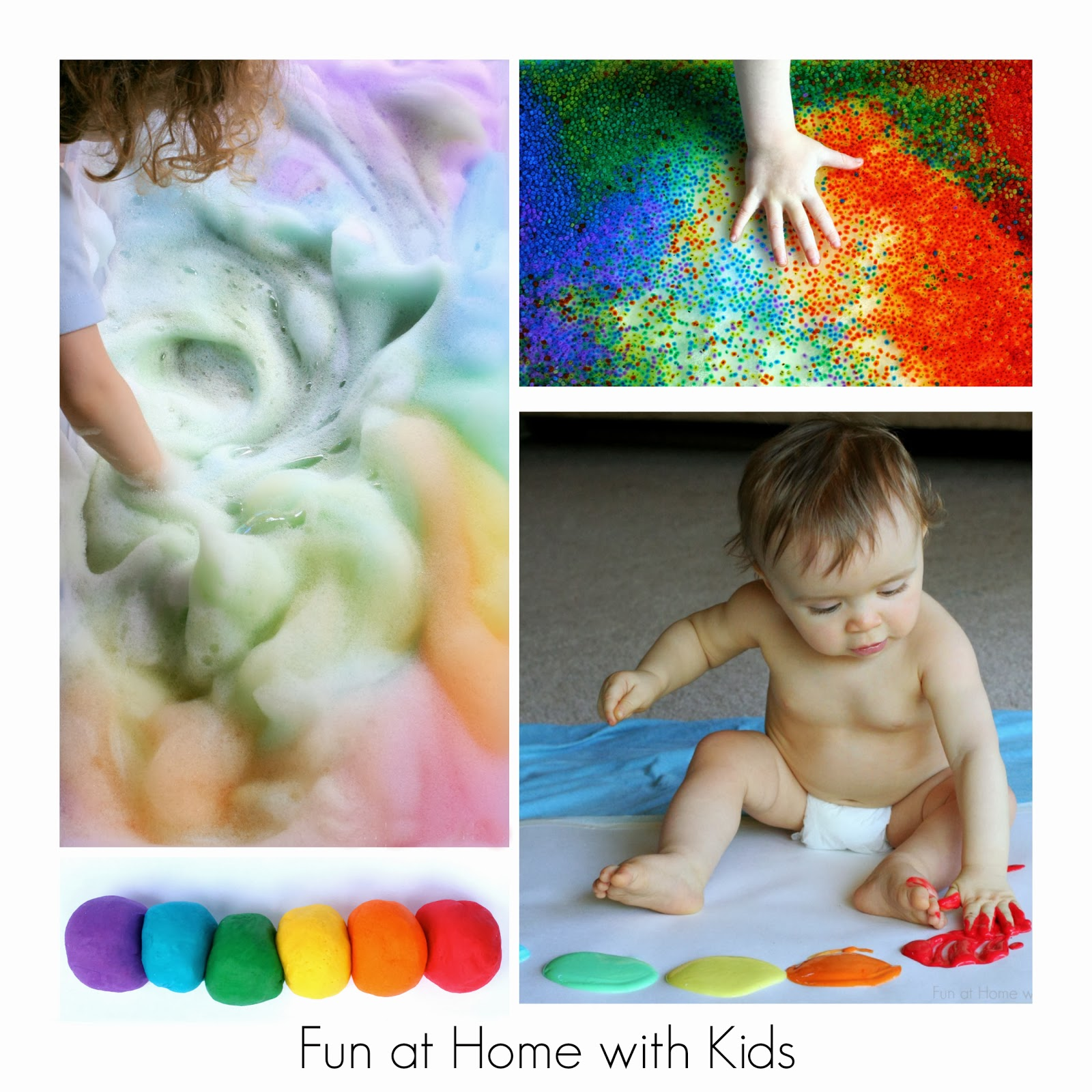 Rainbow Worksheet For Toddlers