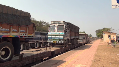 RORO service Konkan Railway's