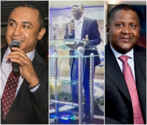 Dangote Won't Make Heaven: Daddy Freeze Blasts RCCG Pastor Who Made The Statement