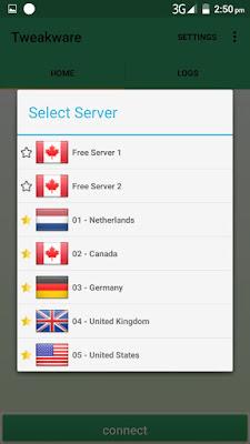 How to use Tweakware VPN Premium servers for free Unlimited Browsing price in nigeria