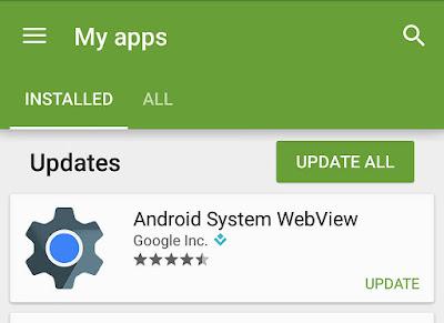 ما هو نظام تطبيق Android System Webview وهل يجب عليك إلغاء تثبيته ؟