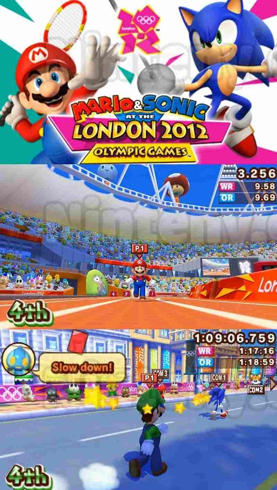 Mario & Sonic at the London 2012 Olympic Games 3DS Decrypted