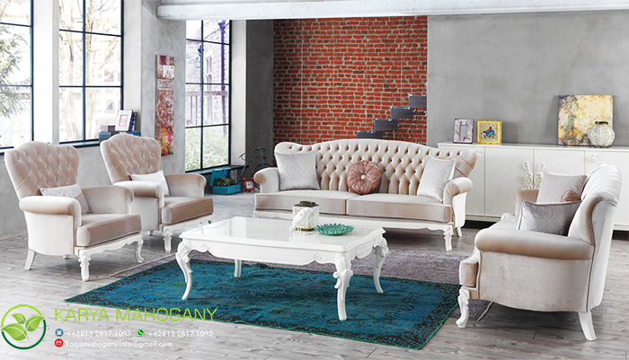 Set Sofa Shabby Chic | Harga Furniture Shabby Chic