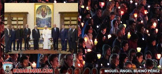 Valentía para reconciliación y paz en Oriente Medio, audiencia del Papa al presidente palestino | Rosarienses, Villa del Rosario