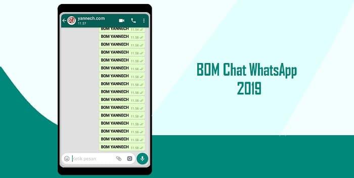 Cara BOM Chat WhatsApp Tanpa Ampun Terbaru 2019 (100% Gurih)