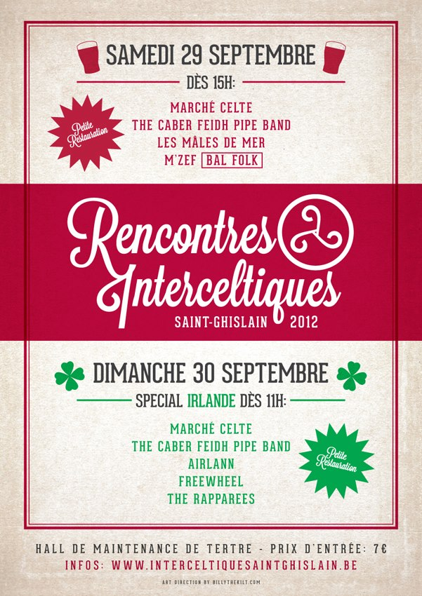Rencontres interceltiques saint ghislain