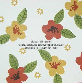 Stampin' Up! Made by Susan Simpson Independent Stampin' Up! Demonstrator, Craftyduckydoodah!, Botanical Blooms,