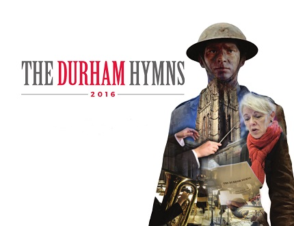 Cover of the programme for the original Durham Hymns performance, July 2016
