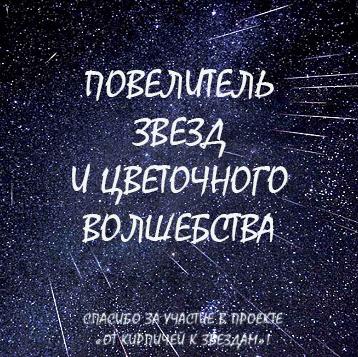 """Мой баннер от проекта """"От кирпичей к звездам"""""""