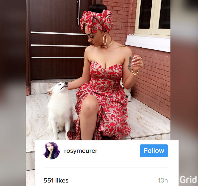 Jeso! Nigerians rip Rosaline Meurer apart as Tonto Dikeh's alleged homebreaker finally enables her comments