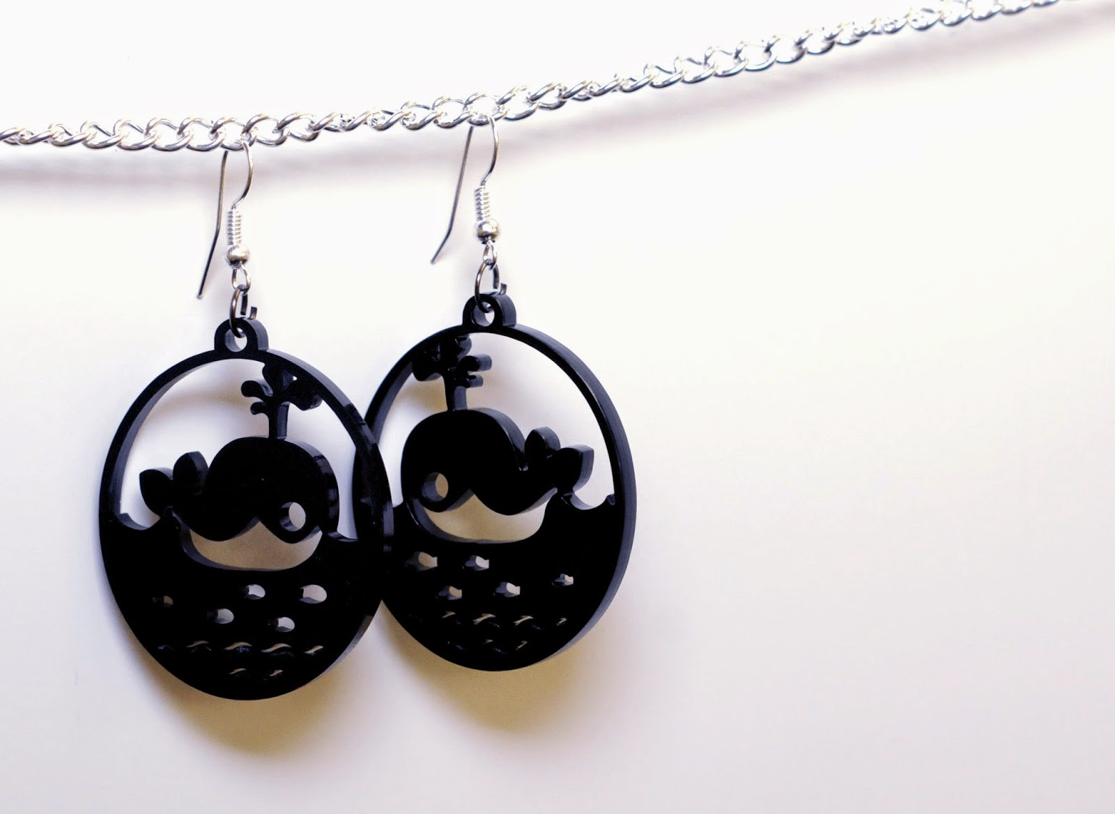Jen Haugan - Whale Earrings