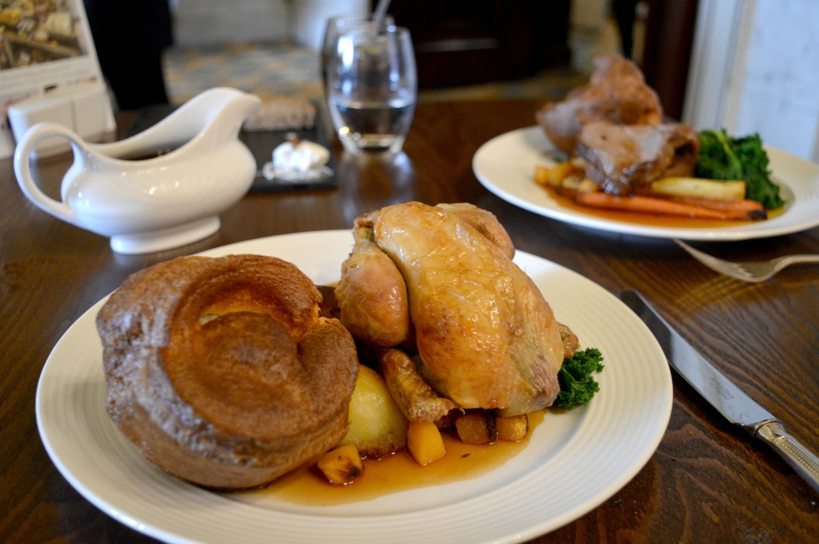 Sunday Lunch at Wynyard Hall - Roasts