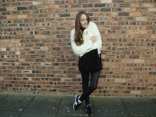 minkpink, colour block, faux fur, asos, fashion coat