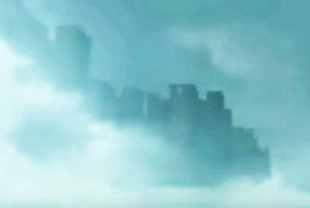Mystery Floating City
