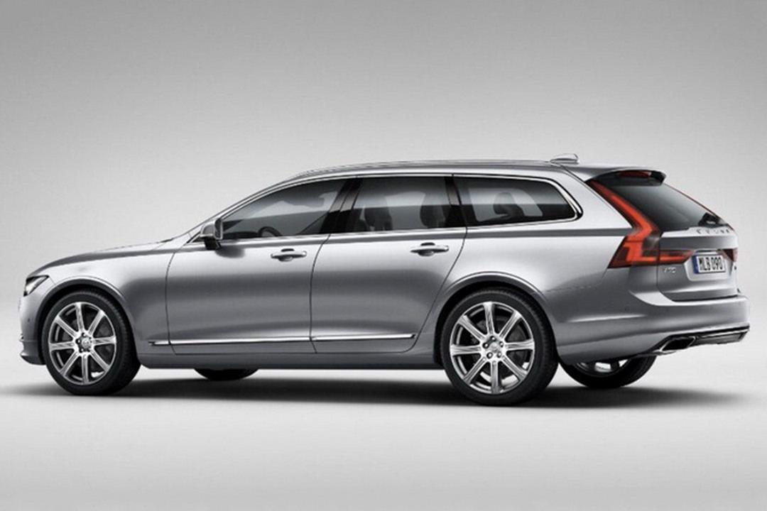 Volvo V90 2017 hy vọng sẽ tạo nhiều ấn tượng tới đây