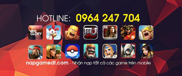 [QUẢNG CÁO] Nạp game mobile uy tín, giá rẻ