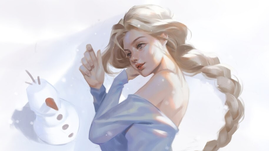 Frozen 2, Elsa, 4K, #5.1477