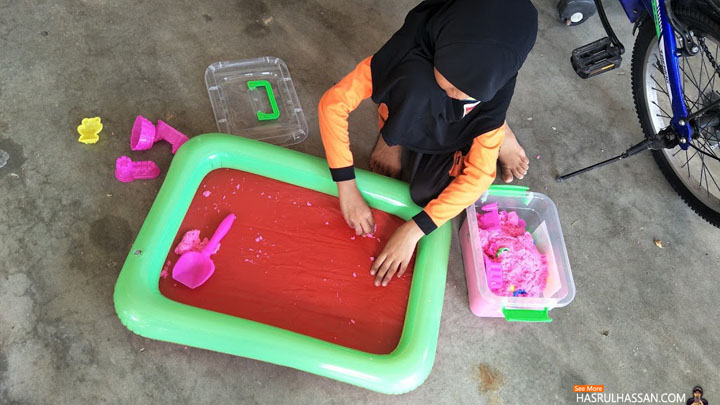 Kinetic Magic Sand - Permaian Baru Maira