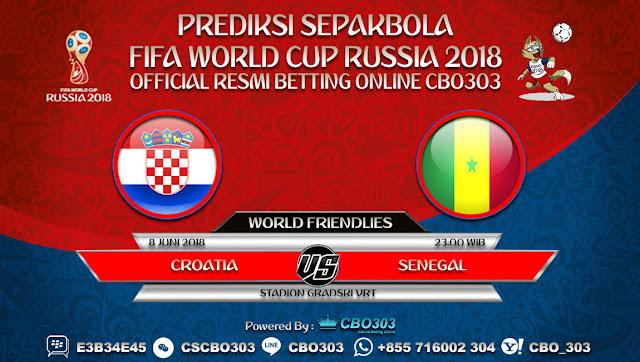 Prediksi Bola Croatia VS Senegal 08 Juni 2018