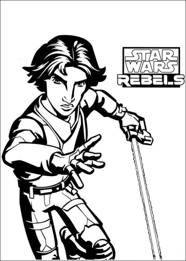 ausmalbilder zum ausdrucken ausmalbilder star wars rebels