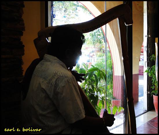 Titay's harpist