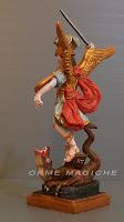modellini fatti a mano personaggi religiosi scultura pezzo unico orme magiche