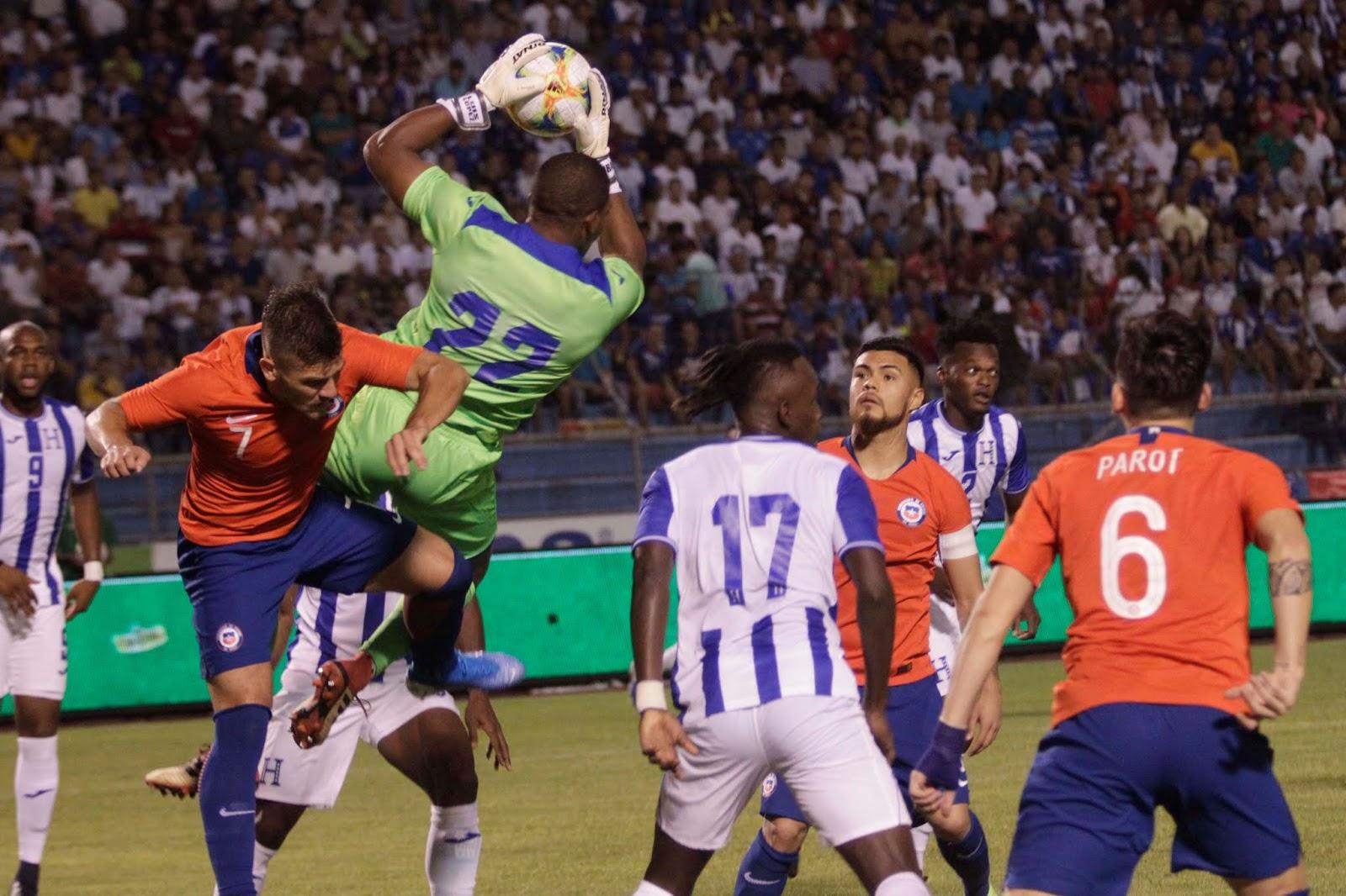 Honduras y Chile en partido amistoso, 10 de septiembre de 2019