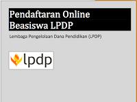 Cara Pendaftaran Online Beasiswa LPDP 2018/2019